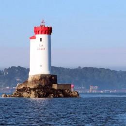 Le phare de la croix en Bretagne