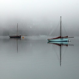 La Bretagne dans la brume